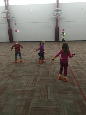 Skating Lesson in PE 2017-2018 School Year