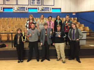 Congratulations to the Chiefs Speech and Debate Team at the Hennessey Invitational Tournament! Every entry qualified for Regionals!