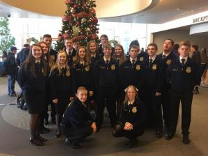 2016 FFA members attended MFE Conference