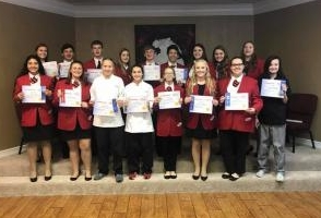 Cherokee FCCLA Members at 2017-2018 Star Event