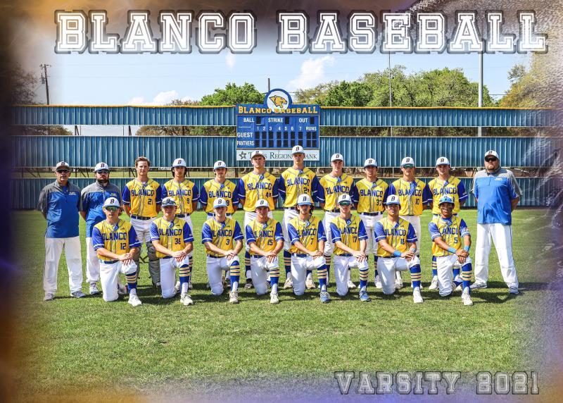Blanco Panther Baseball Playoff Information