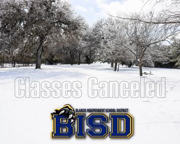Classes Canceled Friday, February 19th