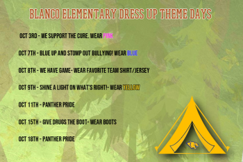 Elementary Dress-Up Days