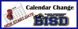 Message from Superintendent - BISD CALENDAR CHANGE