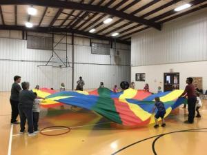 K-Parachute fun!!