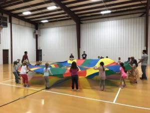 K-Parachute Fun!