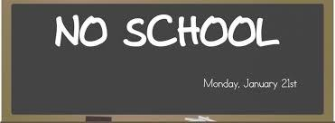 No School January 21st