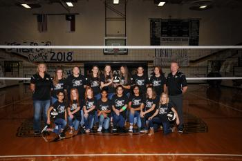 2017 Jr. High Ladycats Volleyball