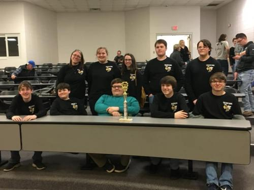 quizbowl team 2018-2019