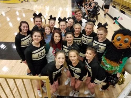 CJHS Cheer Squad