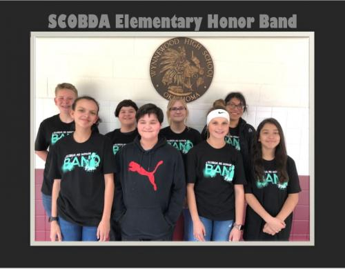 SCOBDA Elementary Honor Band