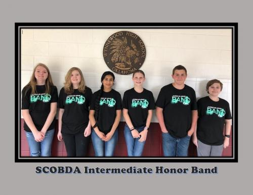 SCOBDA Intermediate Honor Band