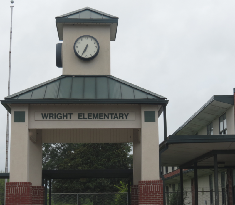 Landscape View facing Wright Elementary School