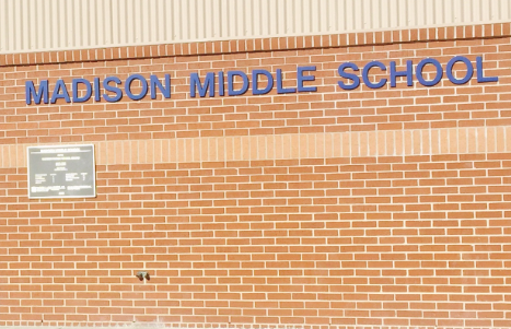 Landscape View facing Madison Middle School