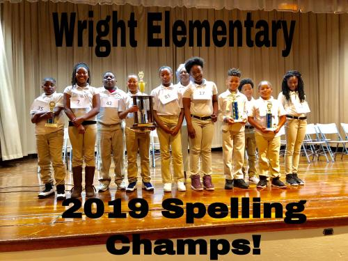 WES Spelling Bee Champs