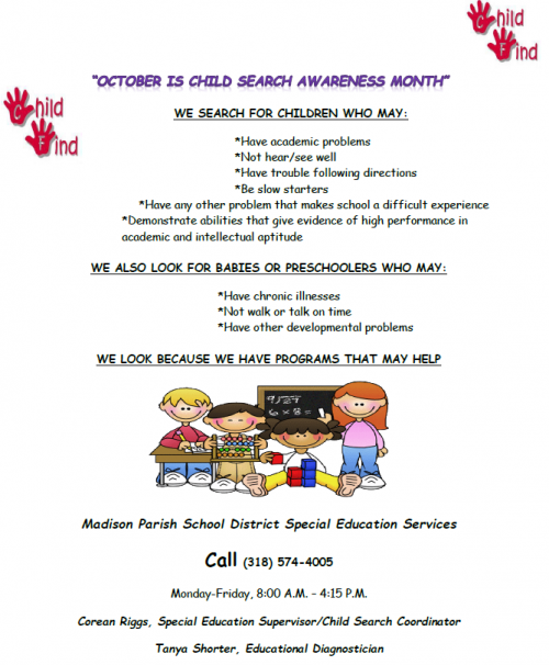Child Search Awareness