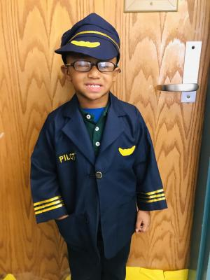 Homecoming Week- When I grow up....Police Man