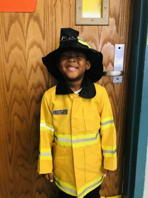 Homecoming Week- When I grow up....Firefighter