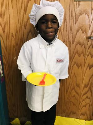 Homecoming Week- When I grow up....Chef