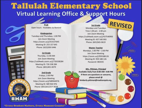 Distance Learning Information Pic