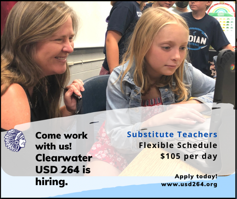 Come work with us as a substitute teacher!