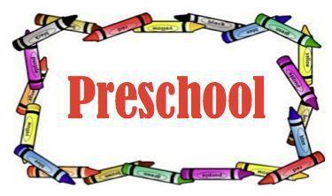 Preschool for 2021-22 school year