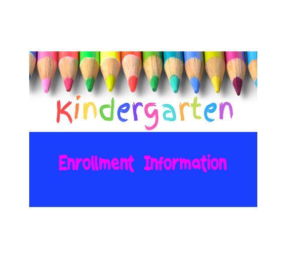 Kindergarten Enrollment 2020-21