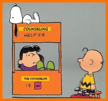 Charlie Brown Lucy Counselor