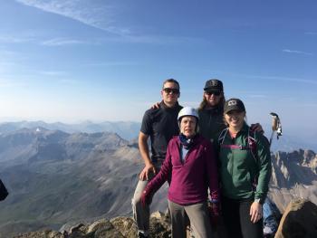 Mt. Sneffels summit