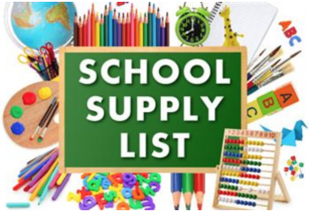 School Supply Lists 2020-2021 School Year