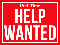 Pert-Time Help Wanted