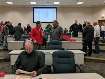 Area coaches setting their schedules.