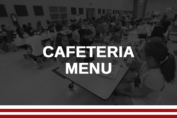 Cafeteria Menu