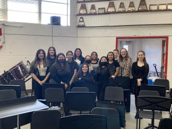 PHS Band Sweeps Solo and Ensemble (All 1's)