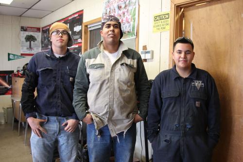 John Chesser, Obed Lopez, Edgar Mendoza