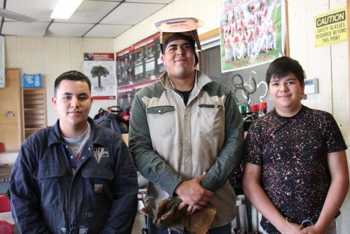Edgar Mendoza, Obed Lopez & Alfredo Salas