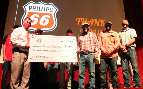 Phillips 66 Check Presentation