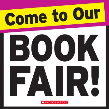 Graphic: Come to our book fair!