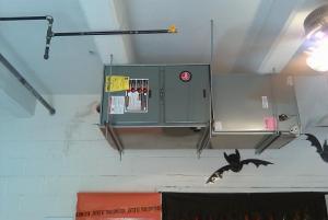 New HVAC unit- October 17, 2011