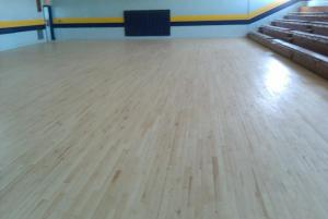 New Gym Floor - June 2011