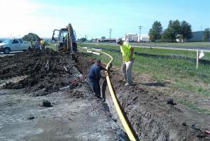 Utility Installation- August 2011