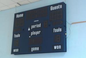 New Scoreboard- October 17, 2011
