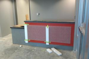 Reception Area: Added 04-05-2012