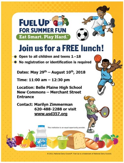 Free Lunch Information