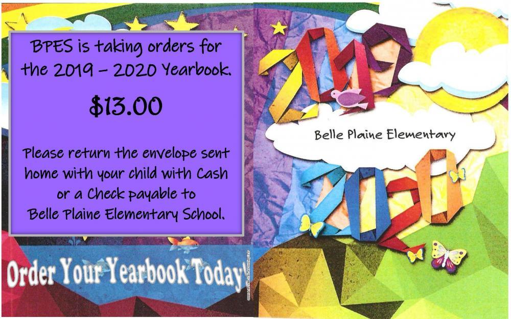2019-2020 Yearbook Sales