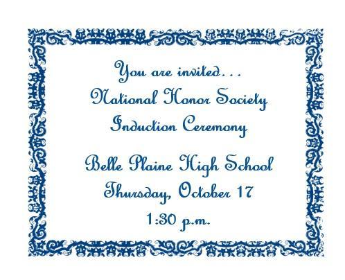 NHS Invitation
