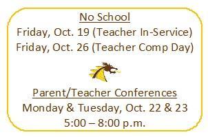 Parent Teacher Conferences and No School