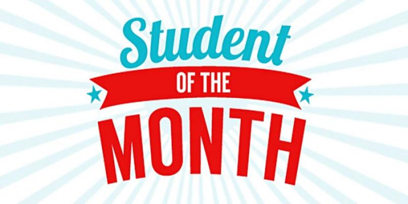 JH Student of the month