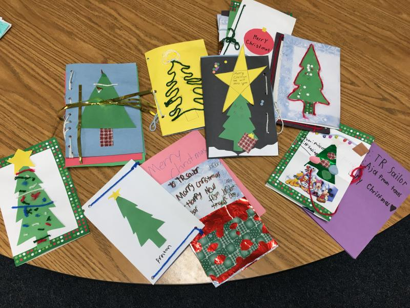 Christmas Cards for Sailors