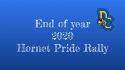 2020 End of Year Hornet Pride Rally